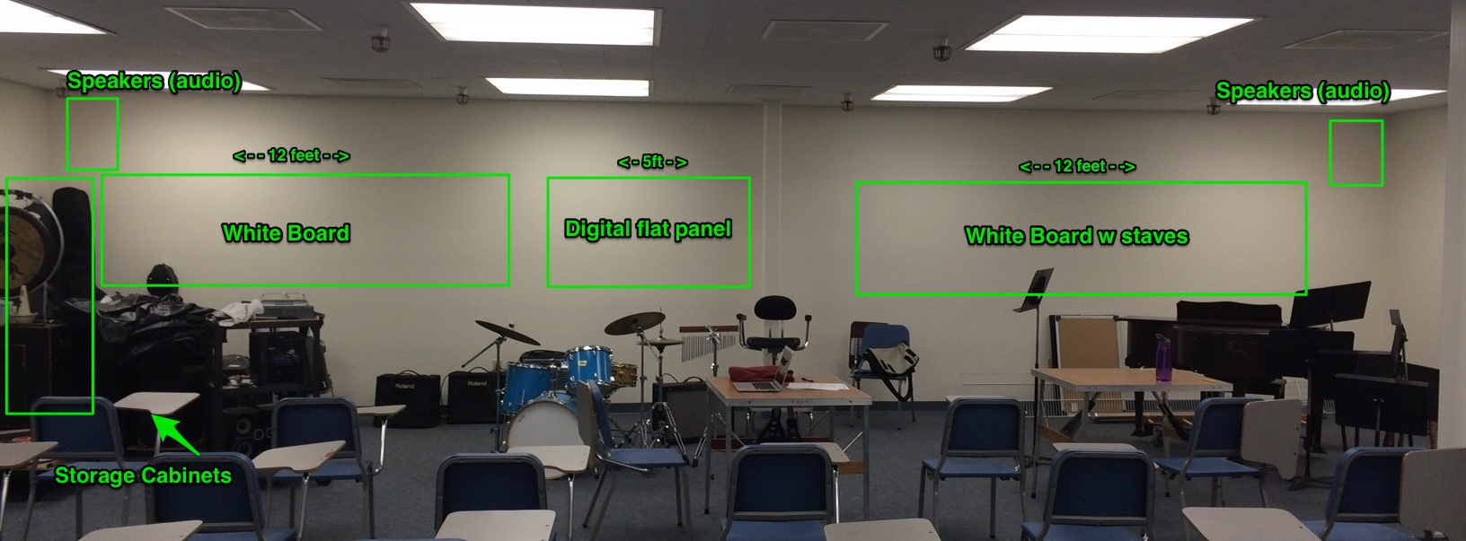 Band Room_north wall